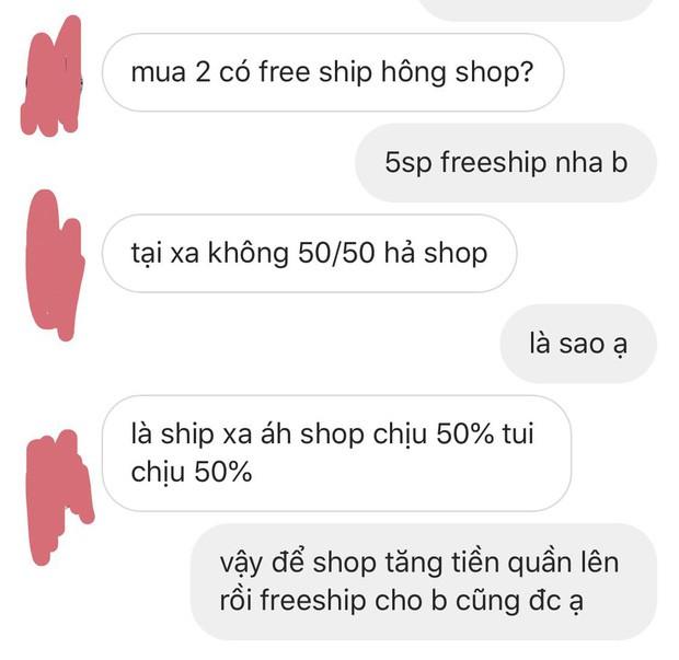 Mua hàng online nhưng thượng đế cứ kì kèo tiền ship, câu trả lời mặn chát của chủ shop khiến nhiều người gật gù-1