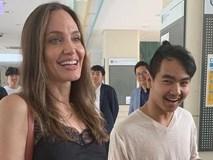 Angelina Jolie xúc động trong ngày đưa Maddox đi nhập học
