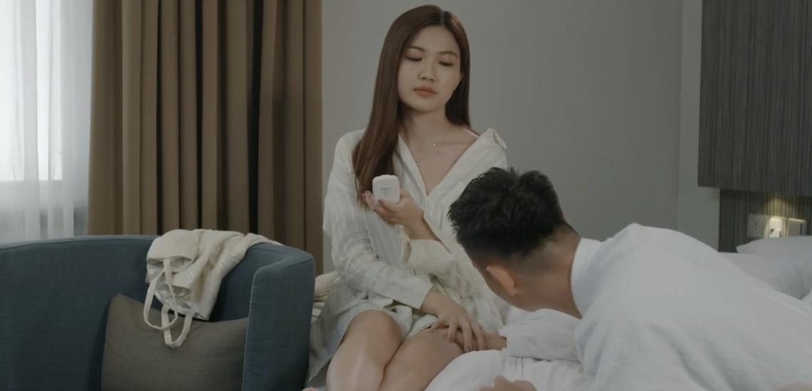 Hoa hồng trên ngực trái: Đỏ mặt xem cảnh tiểu tam hôn hít, lên giường với 2 diễn viên nam chỉ trong 1 tập phim-4