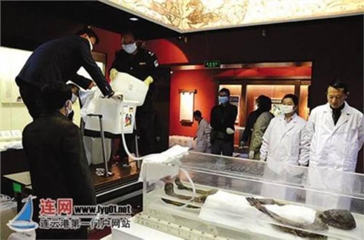 Bí ẩn về thi thể còn nguyên vẹn trong ngôi mộ cổ nghìn năm ở Trung Quốc, danh tính được xác định là tuyệt thế giai nhân thời Hán-2