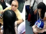 Chửi bới, hành hung cô gái trẻ chỉ để giành chỗ ngồi trên tàu điện ngầm, người đàn ông 'ăn gạch' tới tấp từ cộng đồng mạng