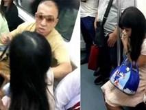 Chửi bới, hành hung cô gái trẻ chỉ để giành chỗ ngồi trên tàu điện ngầm, người đàn ông