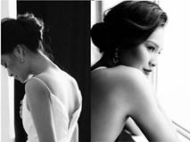 Hoa hậu Hương Giang cuốn hút với gam màu đen - trắng