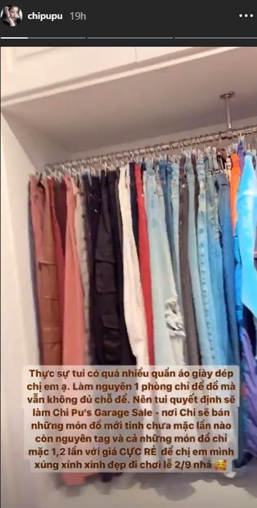 Lần đầu khoe tủ đồ hàng hiệu, Chi Pu khiến dân tình phải trầm trồ vì quá khủng-1