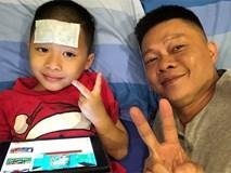 Ngày đầu vào lớp 1, con trai BTV Quang Minh