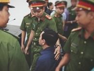 Nguyễn Hữu Linh mất bình tĩnh, lắc đầu khi nghe bản án 18 tháng tù