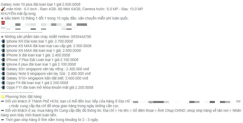 Tiết lộ của dân buôn điện thoại Trung Quốc nhái giống 90% hàng thật mà giá bằng 30%-3