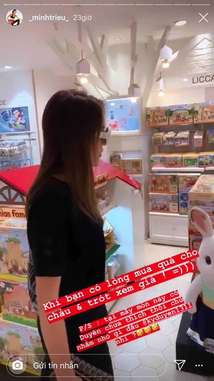 Tay chơi hàng hiệu như Kỳ Duyên lại bị Minh Triệu bóc mẽ tiếc tiền mua quà cho cháu vì đắt lắm!-4