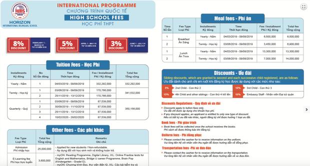 """Học phí của các trường Quốc tế xịn"""" tại Hà Nội, lên đến mức 730 triệu/năm!-3"""