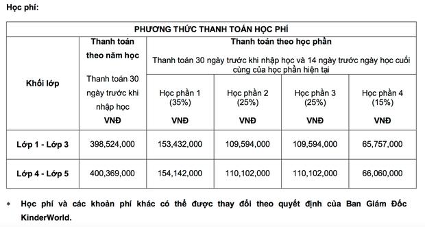 """Học phí của các trường Quốc tế xịn"""" tại Hà Nội, lên đến mức 730 triệu/năm!-6"""