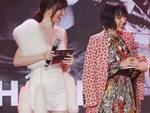 Động thái gây chú ý của Hari Won giữa lúc bị khán giả phản ứng vì vạ miệng đọc sai tên Châu Bùi tại lễ trao giải-4