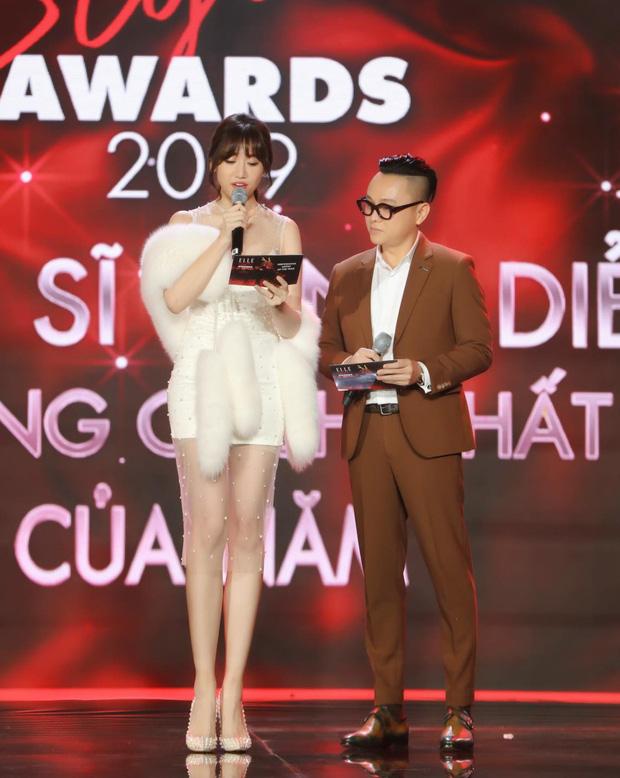 Động thái gây chú ý của Hari Won giữa lúc bị khán giả phản ứng vì vạ miệng đọc sai tên Châu Bùi tại lễ trao giải-3