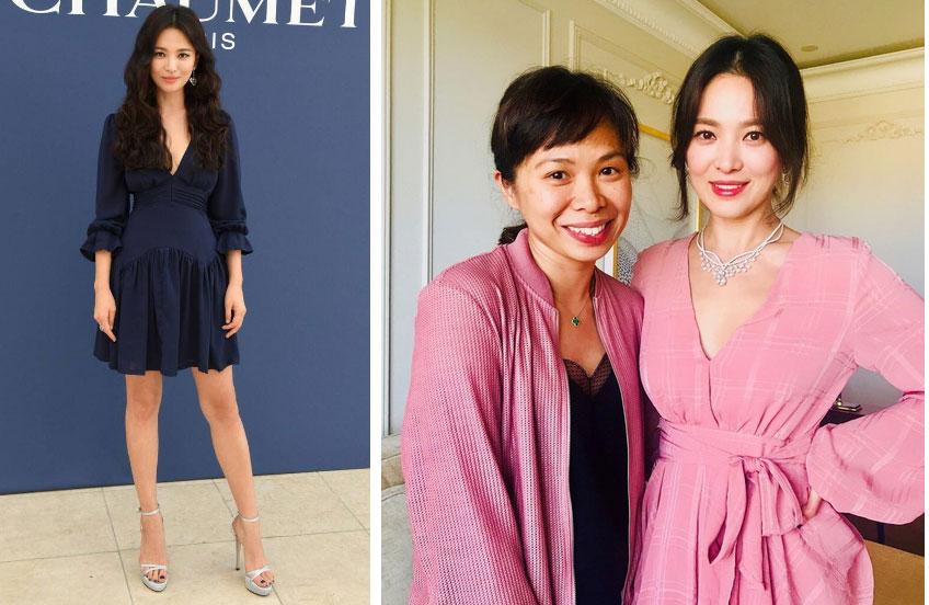 Song Hye Kyo cũng có nhược điểm vóc dáng gây tự ti và đây là 2 cách cô chọn trang phục để khắc phục điều này-5