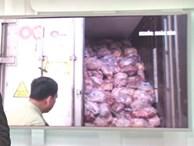 40 tấn thịt thối đưa đi làm giò chả, buôn bán miếng ăn mà ác quá