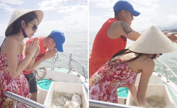 Bị mỉa mai diễn cho ai xem khi thả cá phóng sinh, Thủy Tiên đáp trả đanh thép khiến anti-fan cứng họng-1