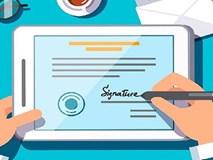 Hướng dẫn ký tên lên văn bản PDF trên máy tính và điện thoại