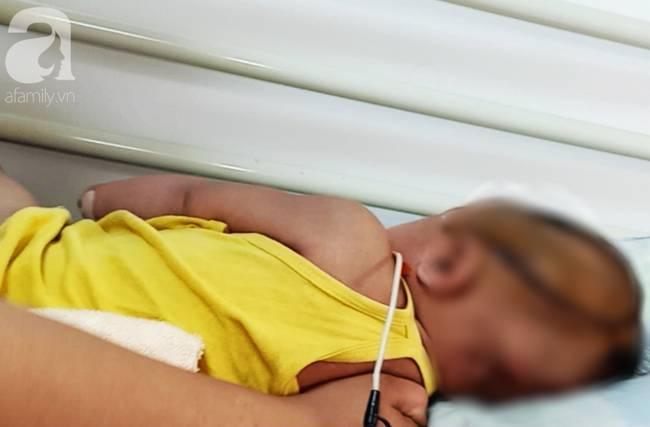 Long An: Bé gái 8 tháng tuổi nghi bị xuất huyết não ngay ngày đầu tiên được mẹ gửi đi nhà trẻ-3