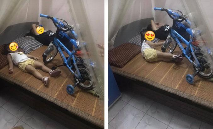 Chuyện bi hài người có con nhỏ mới hiểu: Nằm ngủ cũng chẳng yên vì trẻ giữ khư khư đồ chơi xếp kín giường-2