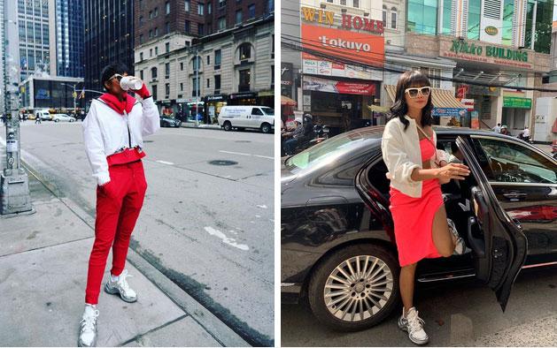 Từng là hoa hậu nghèo nhất Vbiz với giày 80k và áo phông đi mượn, giờ đây HHen Niê đã quen thuộc với việc dát đồ hiệu lên người-8