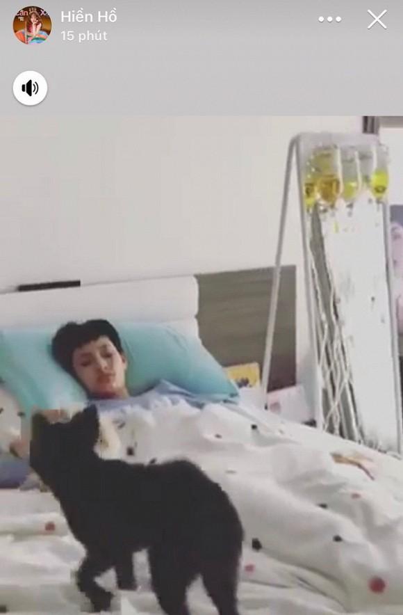 Hậu tin đồn tình cảm với rapper B Ray, Hiền Hồ bất ngờ nhập viện, truyền một lúc 5 chai thuốc-1
