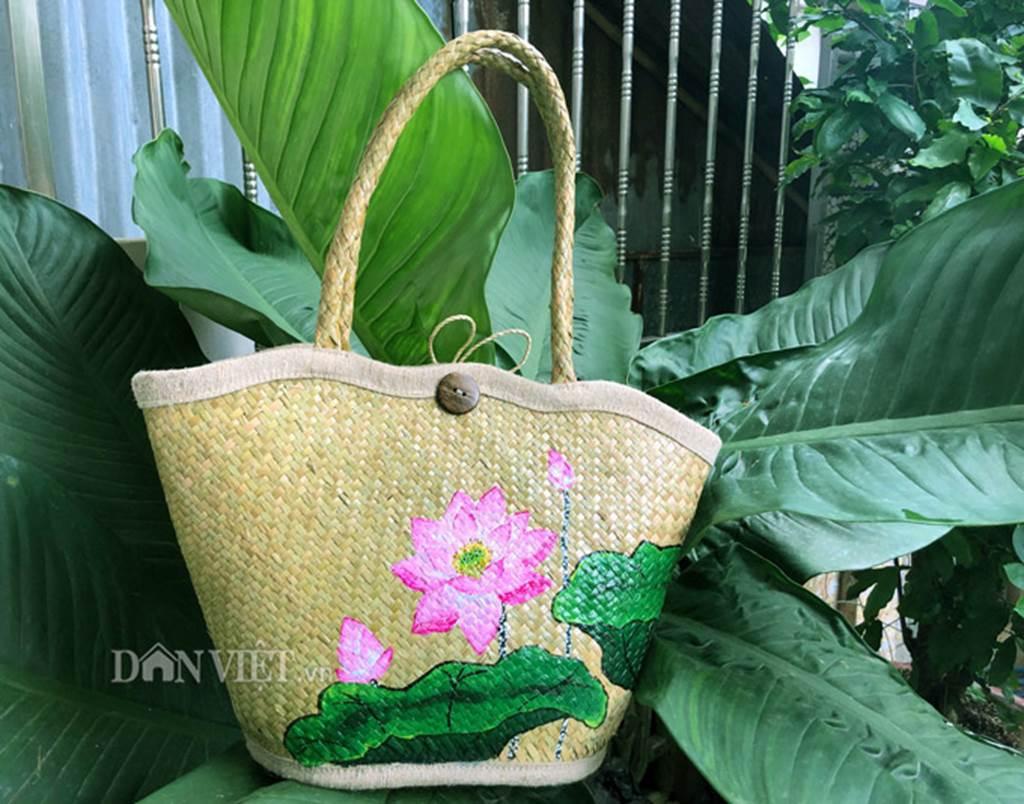 Bộ sưu tập túi xách thời trang khủng từ cỏ dại của 8X Đồng Tháp-3