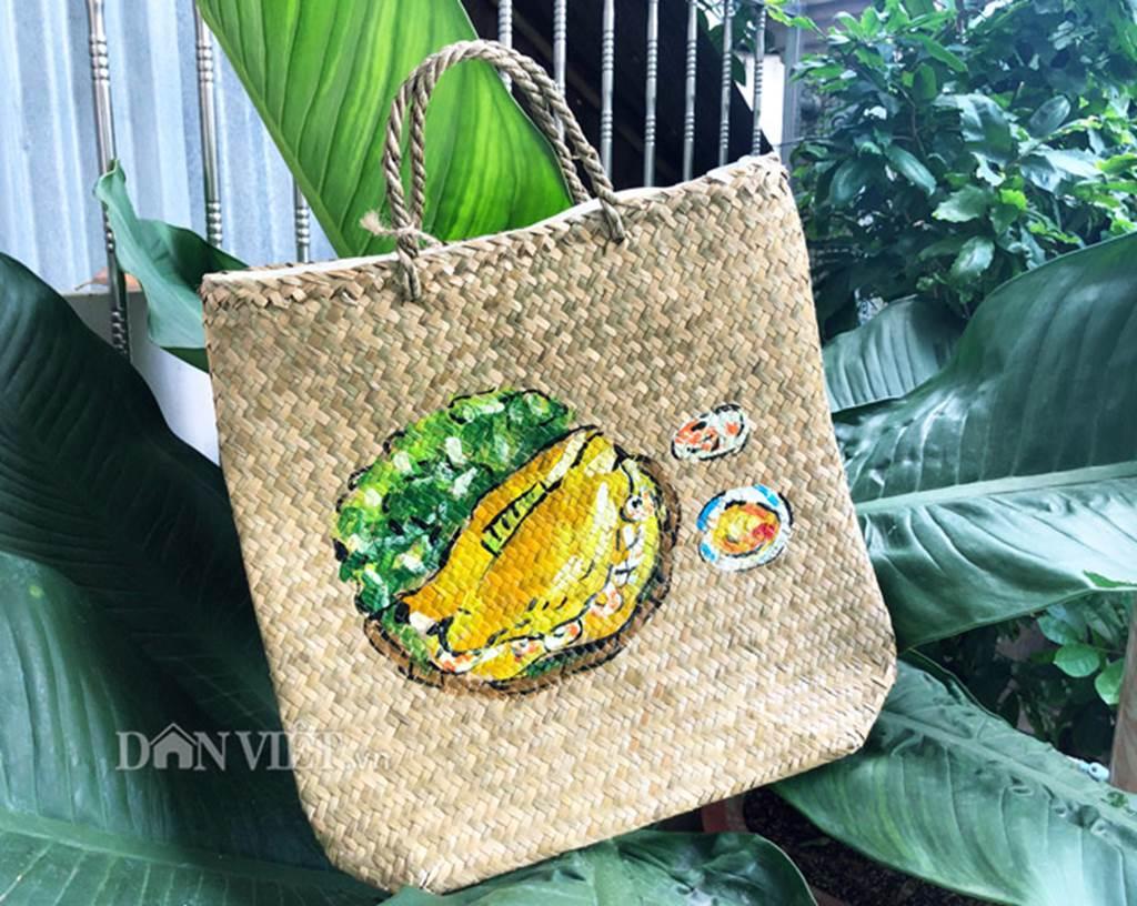 Bộ sưu tập túi xách thời trang khủng từ cỏ dại của 8X Đồng Tháp-4