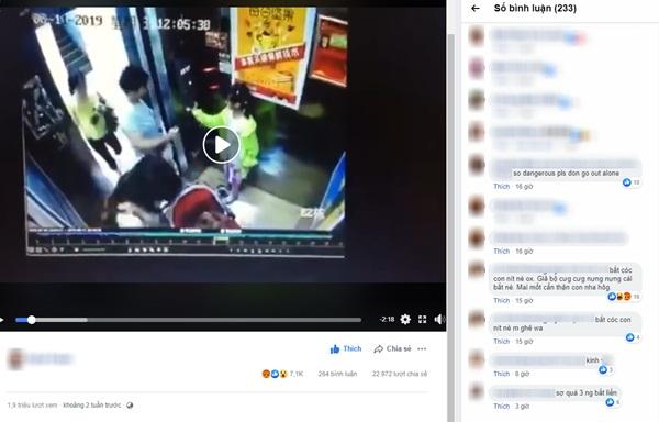 Dân mạng xôn xao share clip bắt cóc trắng trợn trong thang máy, giành giật đứa trẻ từ tay người mẹ nhưng sự thật lại là...-1