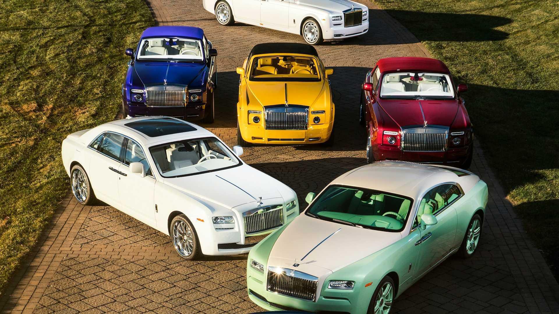 Đại gia sở hữu 10 siêu xe Rolls-Royce màu độc, đặt theo tên mình-4