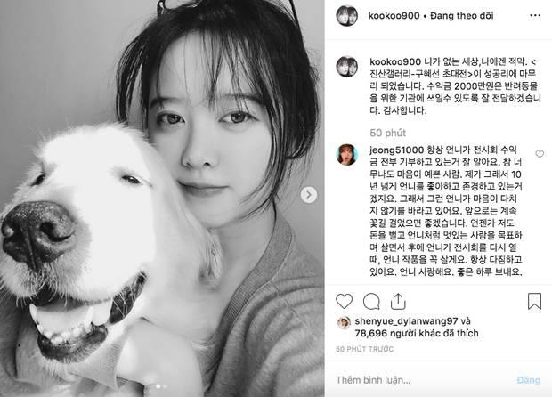Cuối cùng Goo Hye Sun đã xuất hiện sau vụ ly hôn chấn động, biểu cảm cùng dòng trạng thái gây chú ý lớn-1