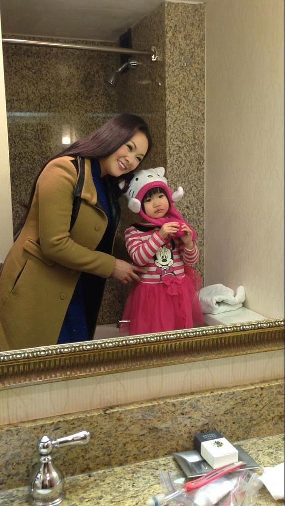 Bẵng đi một thời gian, con gái Như Quỳnh đã cao lớn phổng phao như thiếu nữ-5