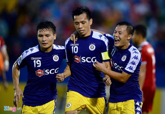 Văn Quyết lập cú đúp, CLB Hà Nội vào chung kết liên khu vực AFC Cup-1