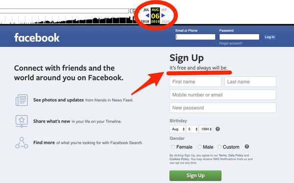Facebook âm thầm thay đổi slogan, khẳng định 'nhanh và tiện' chứ không 'miễn phí'-1