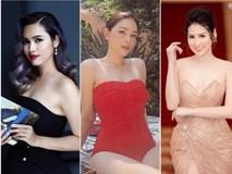Nhan sắc 3 mỹ nhân Việt nổi tiếng, vướng tin đồn hẹn hò em chồng Hà Tăng