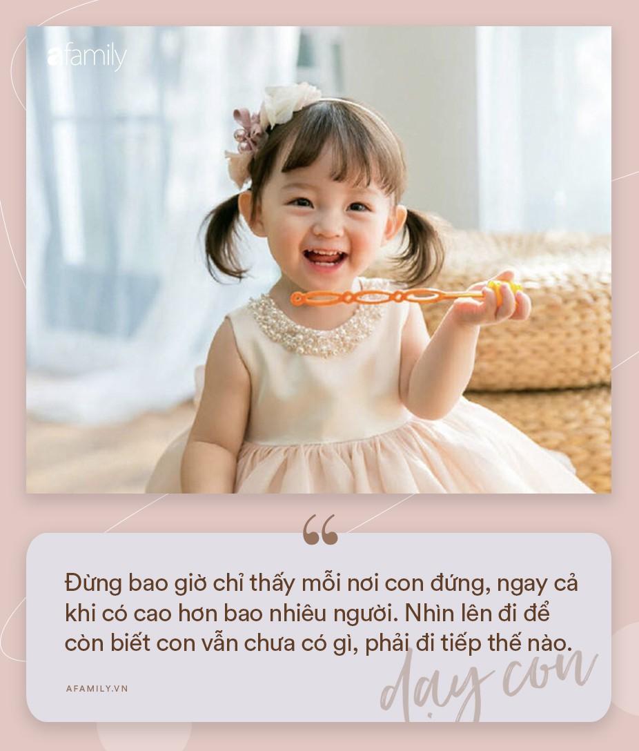 Nhà có con gái, nhất định phải dạy con biết giá trị bản thân và trân trọng chính mình qua 16 điều sau đây-12