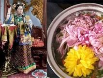 Tại sao Thái hậu Từ Hy lại thêm cánh hoa cúc vào món lẩu của mình?