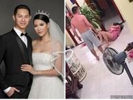 Phẫn uất khi xem clip võ sư đánh vợ, Trang Trần đe dọa chồng: 'Đừng dại tung cước'
