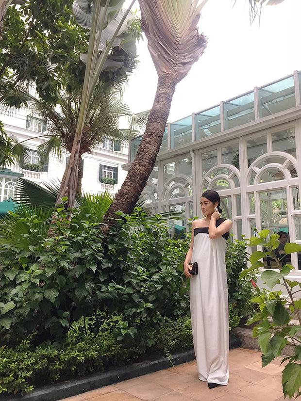 MC Phí Linh lộ bụng lớn, xác nhận đang ở tháng thứ 6 của thai kì sau gần 3 tháng lên xe hoa!-2