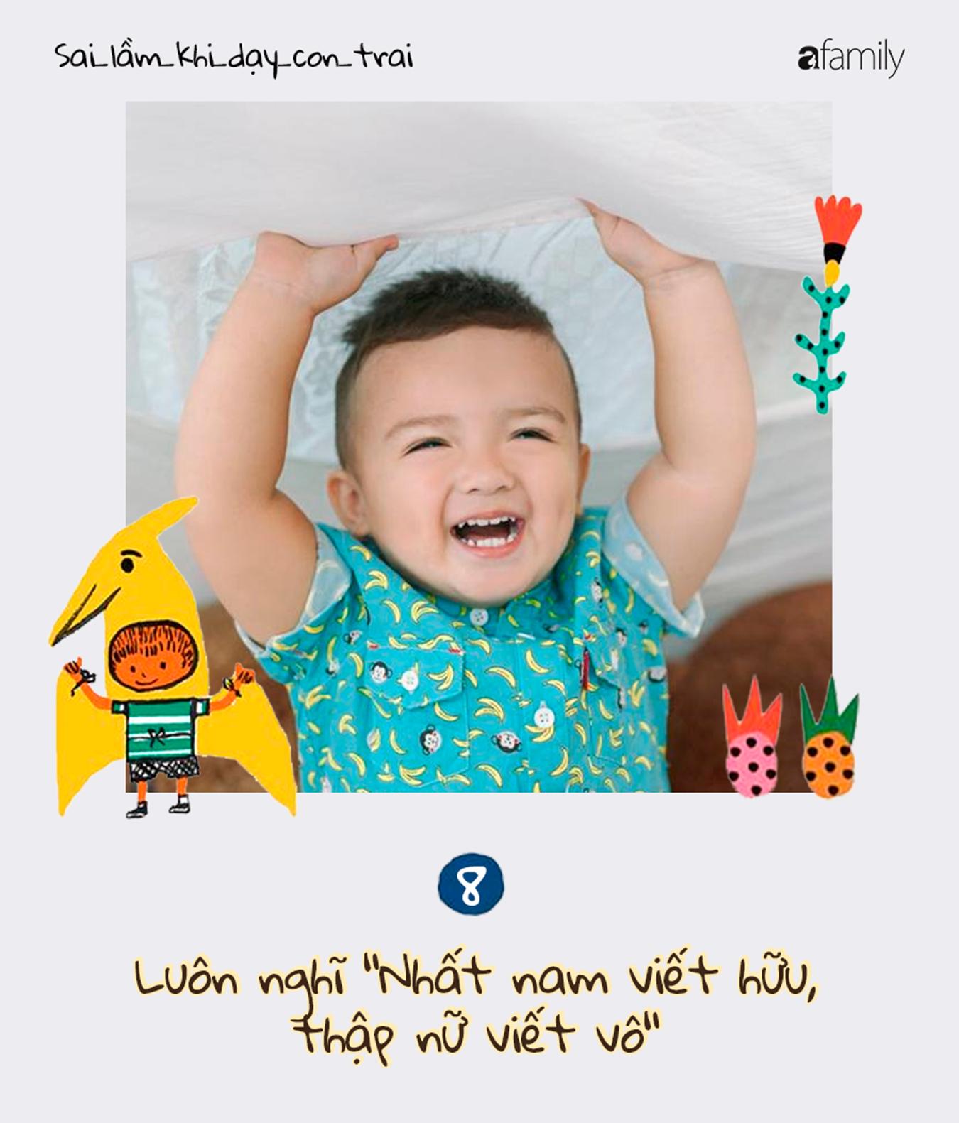 9 sai lầm nghiêm trọng của cha mẹ trong việc dạy dỗ con trai, càng ngẫm càng thấm!-8