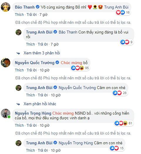 Dàn diễn viên 'Về nhà đi con' đồng loạt chúc mừng 'bố Sơn' Trung Anh-4