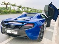 Ngắm siêu xe mui trần màu xanh cực độc, giá hơn 9 tỷ đồng ở Hà Nội