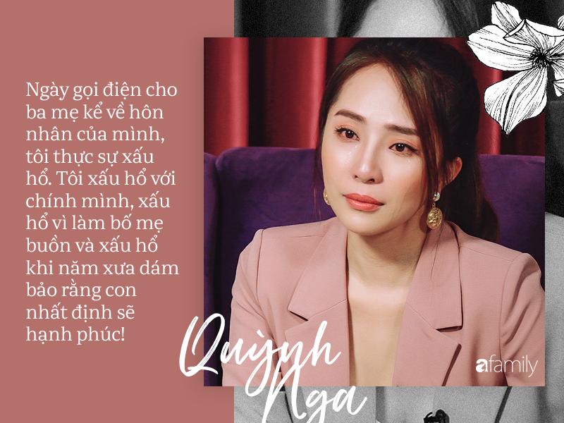 Quỳnh Nga : Bố mẹ từng khuyên ngăn chuyện cưới Doãn Tuấn nhưng tôi cãi lời, vậy mà đến lúc ly hôn họ lại là người đến kéo vali đón tôi về nhà-6