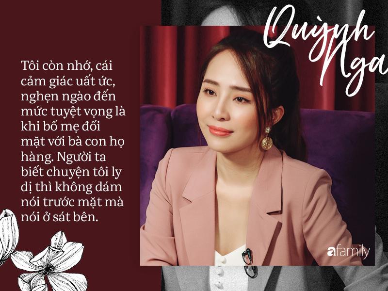 Quỳnh Nga : Bố mẹ từng khuyên ngăn chuyện cưới Doãn Tuấn nhưng tôi cãi lời, vậy mà đến lúc ly hôn họ lại là người đến kéo vali đón tôi về nhà-9