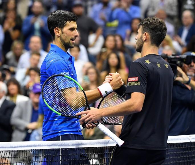 Djokovic san bằng thành tích 71 trận thắng tại Grand Slam của Pete Sampras-1
