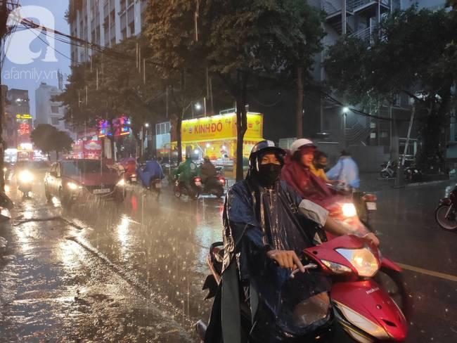 Bão số 4 đang di chuyển vào đất liền, Hà Nội mưa gió khủng khiếp, đã có 1 người chết do cây xanh đè trúng-4