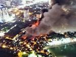 Lo ngại thủy ngân rò rỉ sau vụ cháy Công ty Rạng Đông-2