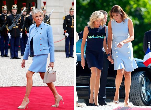 Hóa ra đôi chân vượt tuổi tác của Đệ nhất phu nhân Pháp không chỉ khiến chị em ghen tị, mà giới truyền thông cũng điêu đứng-3