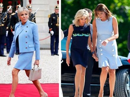 Hóa ra đôi chân vượt tuổi tác của Đệ nhất phu nhân Pháp không chỉ khiến chị em ghen tị, mà giới truyền thông cũng điêu đứng