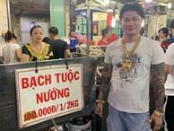 Ông chủ ở Sài Gòn đeo 100 lượng vàng trị giá 4 tỷ chỉ để bán ốc