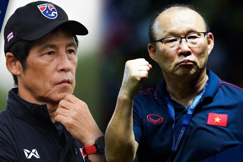 Tuyển Việt Nam đấu Thái Lan: Cân tài thầy Park và HLV Akira Nishino-1