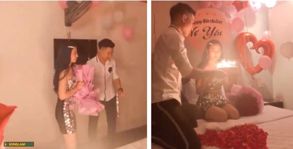 Clip: Chồng bí mật tổ chức sinh nhật cực ngọt ngào cho vợ, trầm trồ nhất là màn trao quà nhìn thôi cũng thấy đã mắt-2